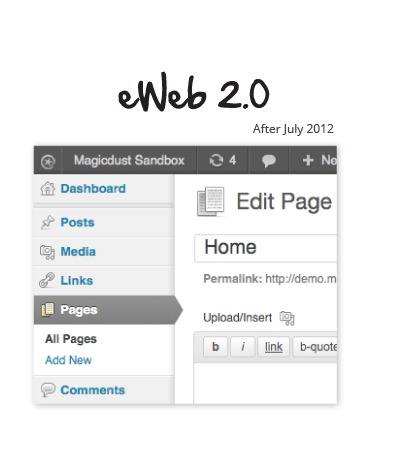eWeb 2.0 for clients after July 2012