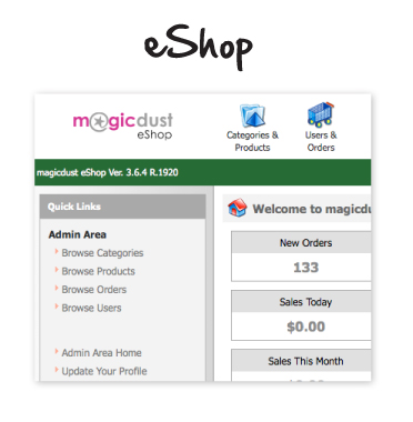 eShop CMS for clients prior to November 2011